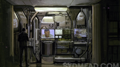 Photo of Deckard Apartment Corridor