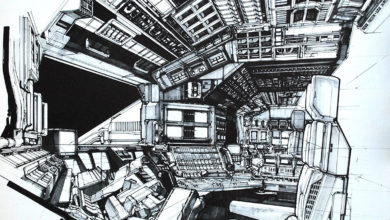 Photo of Syd Mead 2010 Cockpit Design