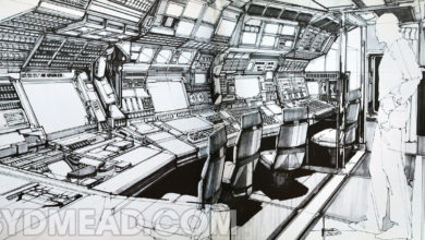 Photo of Syd Mead 2010 Command Center