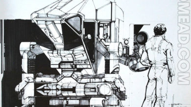 Photo of Syd Mead 2010 Pod Design 01