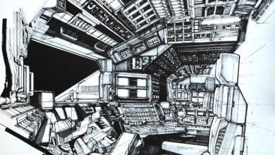 Photo of Syd Mead 2010 Cockpit Design