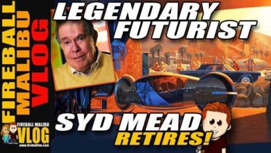 Photo of Syd Mead Retires